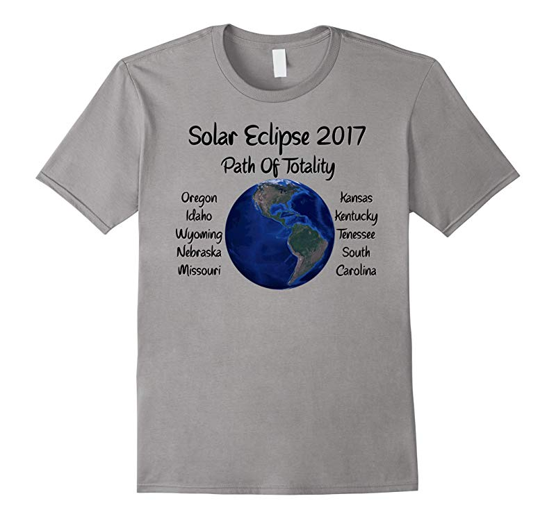 Awesome Solar Eclipse 2017 USA Path Of Totality Tshirt-BN