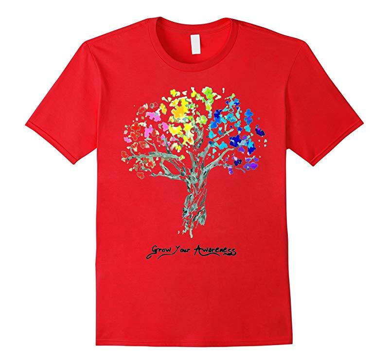 Autism TShirts Grow Your Awareness Tshirts-RT