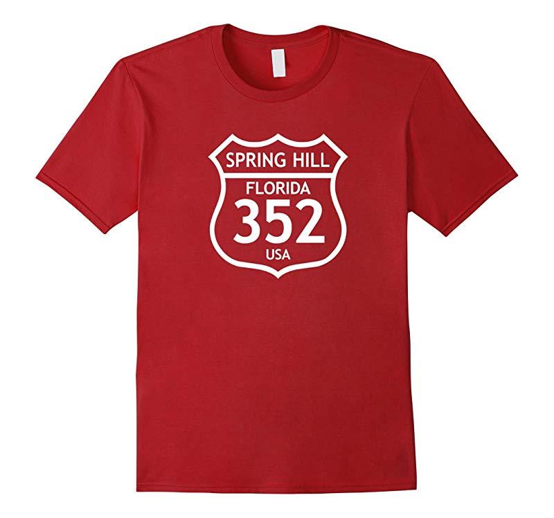352 Spring Hill FL Florida Love Shirt, Brooksville Area Code-RT
