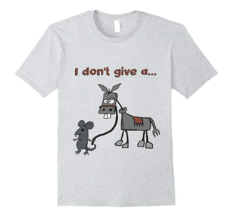 I Dont Give A Rats Ass T-Shirt-Vaci