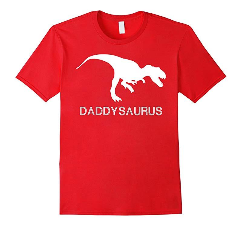 Daddysaurus T-shirt New Dad Birthday Present Father Day Gift-RT