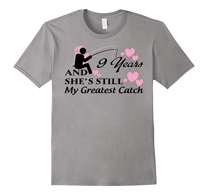 Fishing Shirt - 9th Wedding Anniversary Gifts Shirt-RT