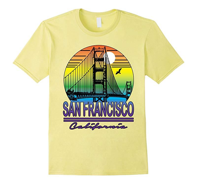 California San Francisco T-shirt Cali Life Home State-RT