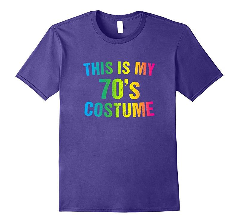70s Costume Halloween T Shirt 1970s for Men Women Girls-RT