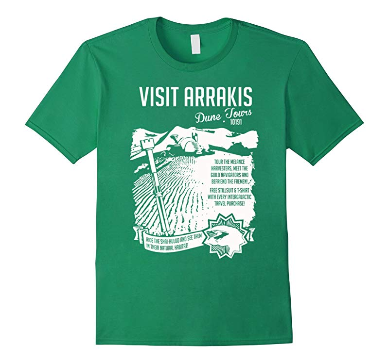 Visit Arrakis Dune Tours T-Shirt-RT