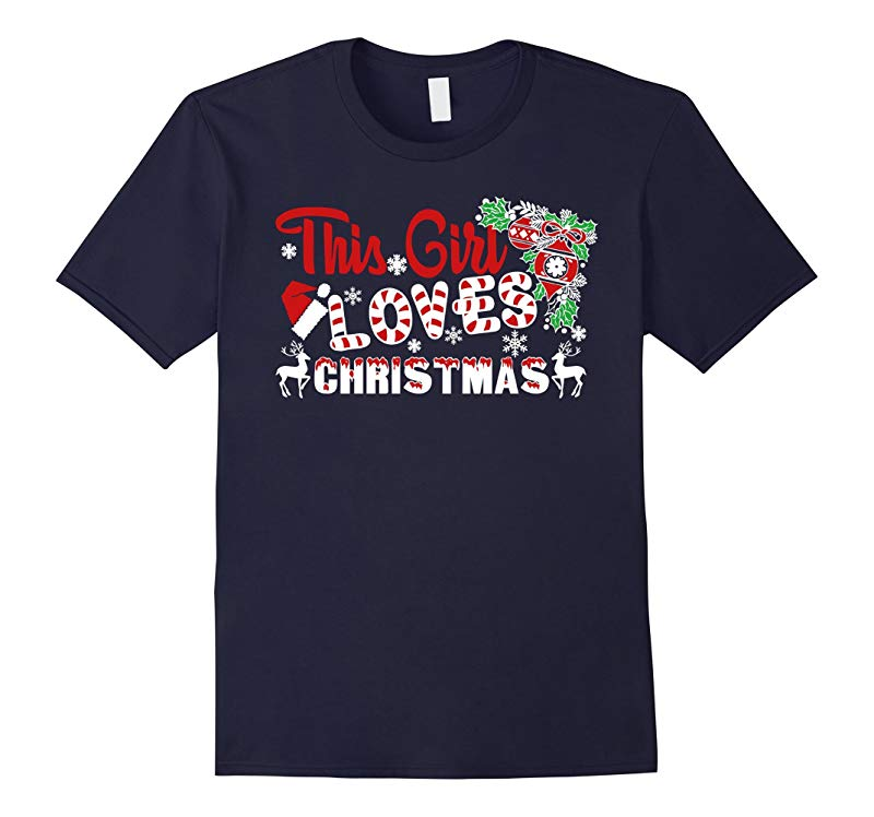 Christmas Vacation Shirt - This Girl Loves Christmas Shirt-RT