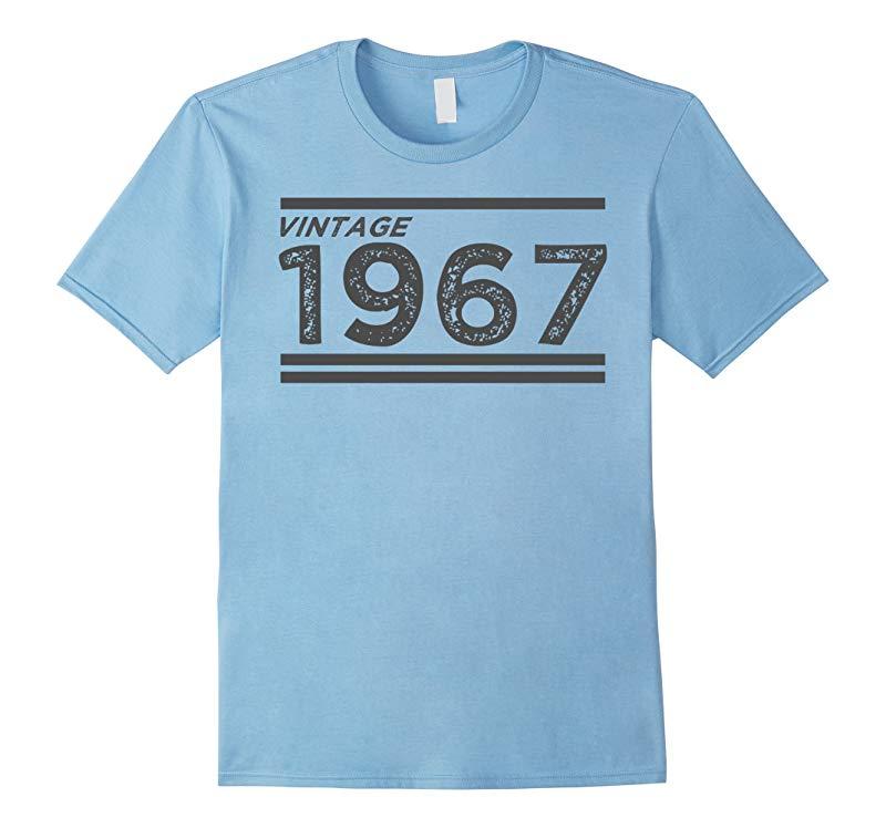 50th Birthday Gift Ideas T-Shirt - 1967 Vintage Retro Style-BN