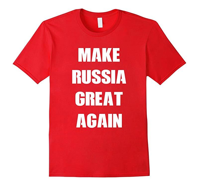 Make Russia Great Again Donald Trump Parody T-Shirt-RT