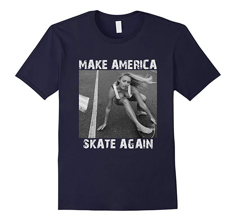 Make America Skate Again Mens t shirts-RT