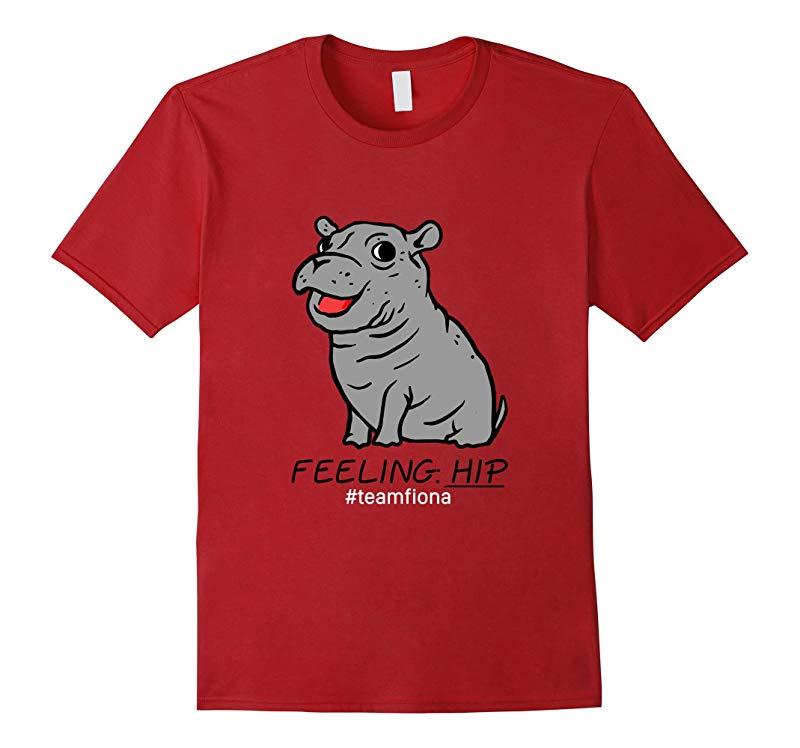 Feeling Hip Preemie Baby Hippo Fiona Team Fiona T Shirt-CD