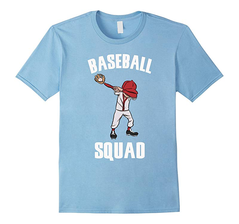 Baseball Squad Dabbing Boy Funny Dab Dance T-shirt for kids-RT