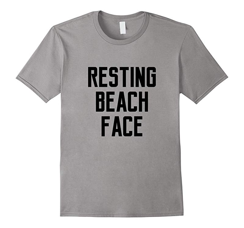 Resting Beach Face Gym Yoga Top Women T-shirt-RT