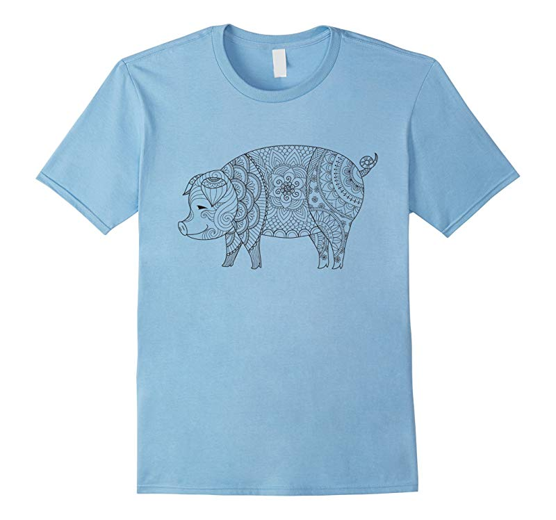 Pig - Color Your Own Colorific Tees Design-RT