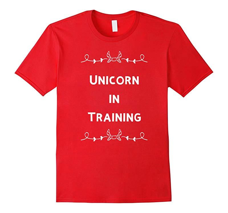 Unicorn in Training Funny Unicorn Novelty Gift T-Shirt-RT