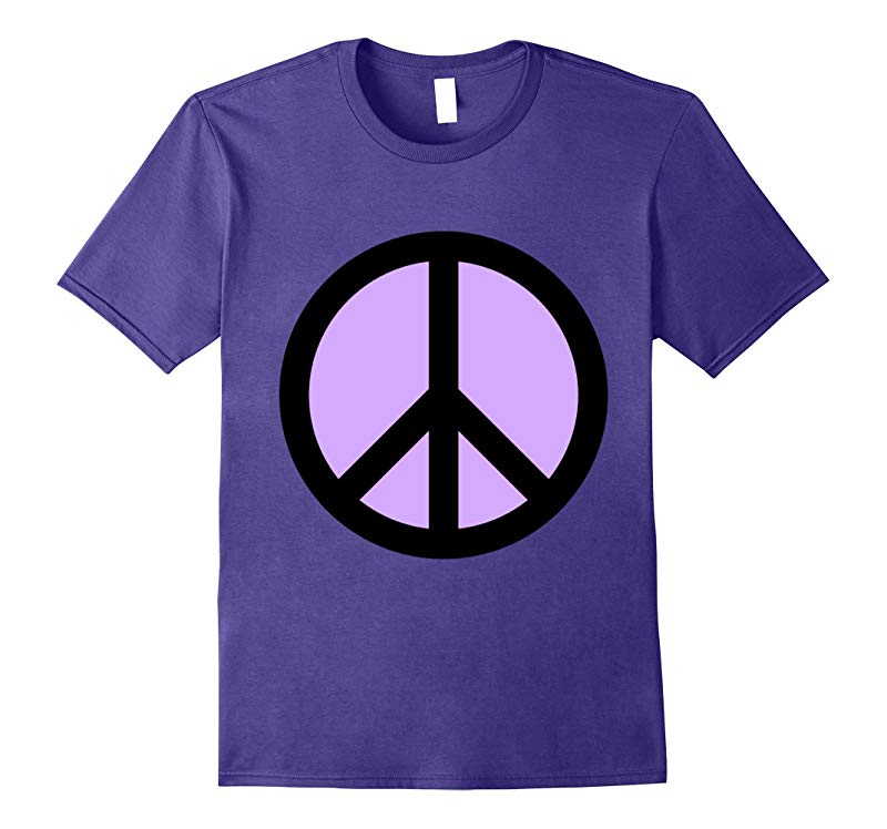 Big Retro Style Peace Sign t-shirt Vintage Hippie Peace Vibe-RT