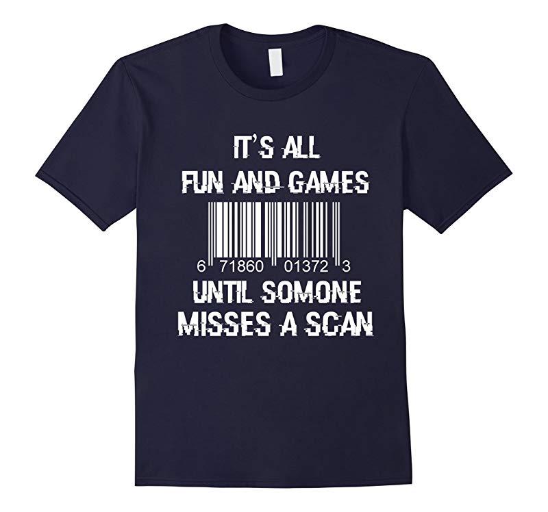 Funny Postal Worker T-Shirt for Postman-TJ