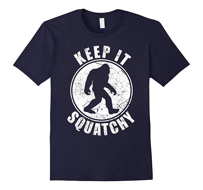 Bigfoot T-shirt Bigfoot Saw Me But Nobody Believes Him Shirt-RT