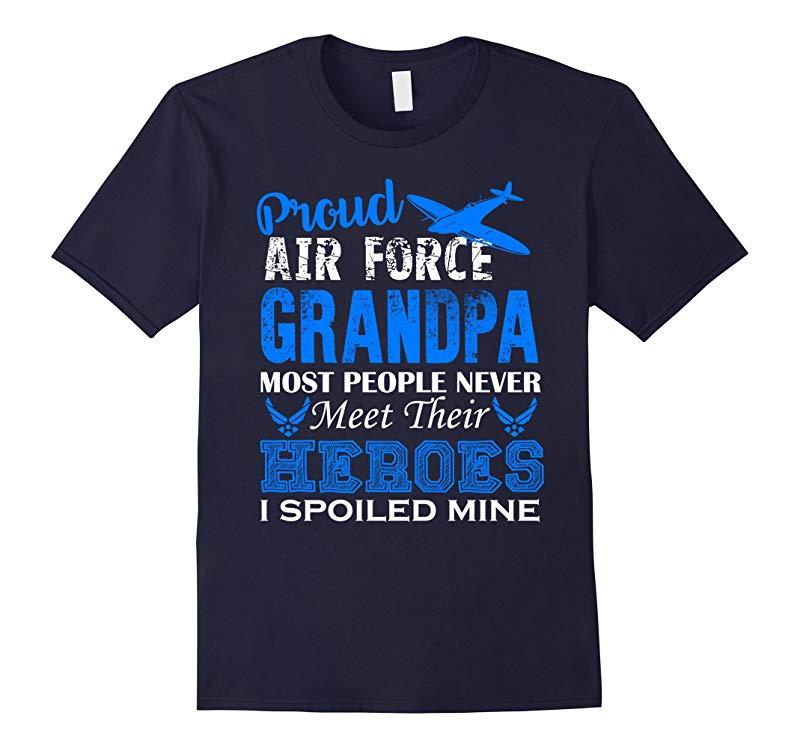 Air Force Grandpa Shirt - Proud Air Force Grandpa Shirts-RT