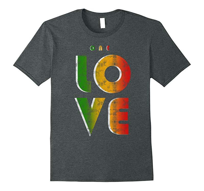 One Love Rasta Reggae Roots Clothing T Shirt Tee Stop War-CD