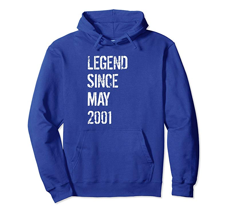 17th Birthday Gift Hoodie for Boys & Girls Born May 2001-alottee gift