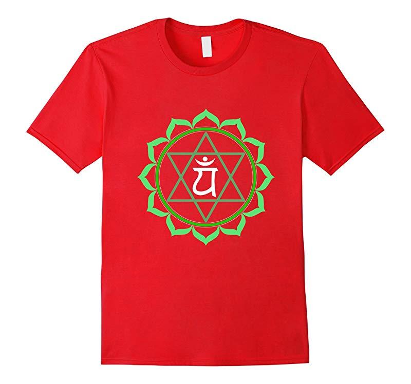 Yoga t shirt Anahatha heart chakra tee-RT