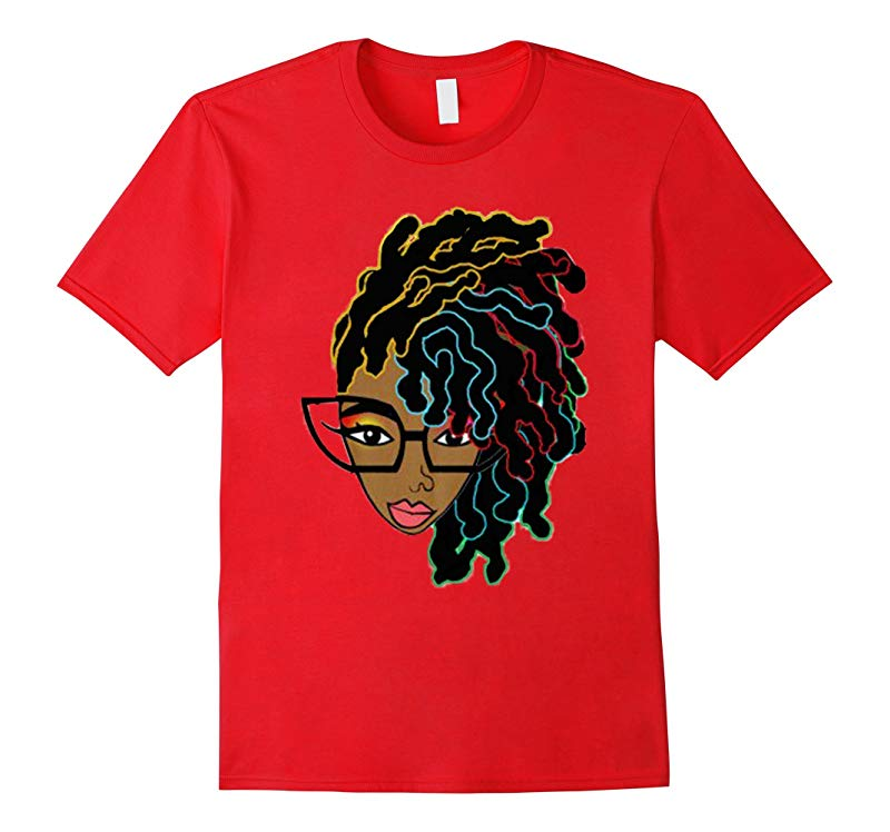Afro hair T-shirt and gift for Black women and natural girl-TD