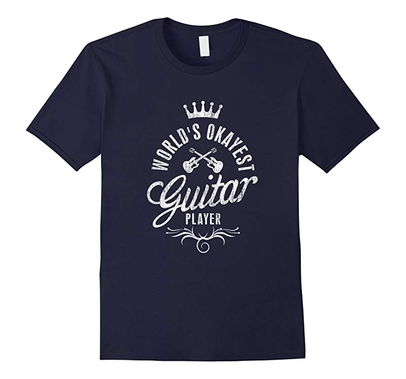 World's Okayest Guitar Player Vintage T-shirt-RT