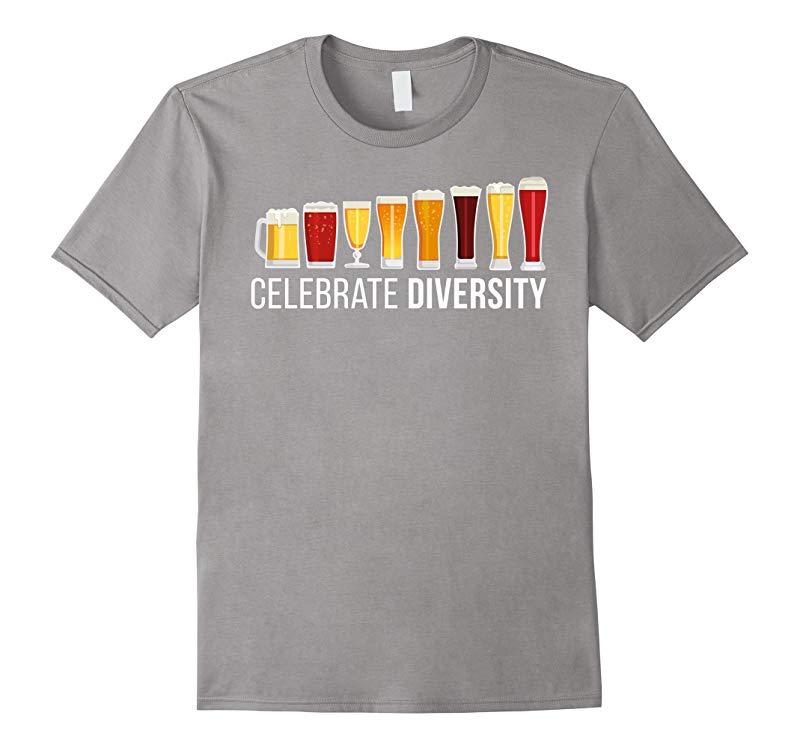 Celebrate Beer Diversity Funny Novelty T-Shirt-RT
