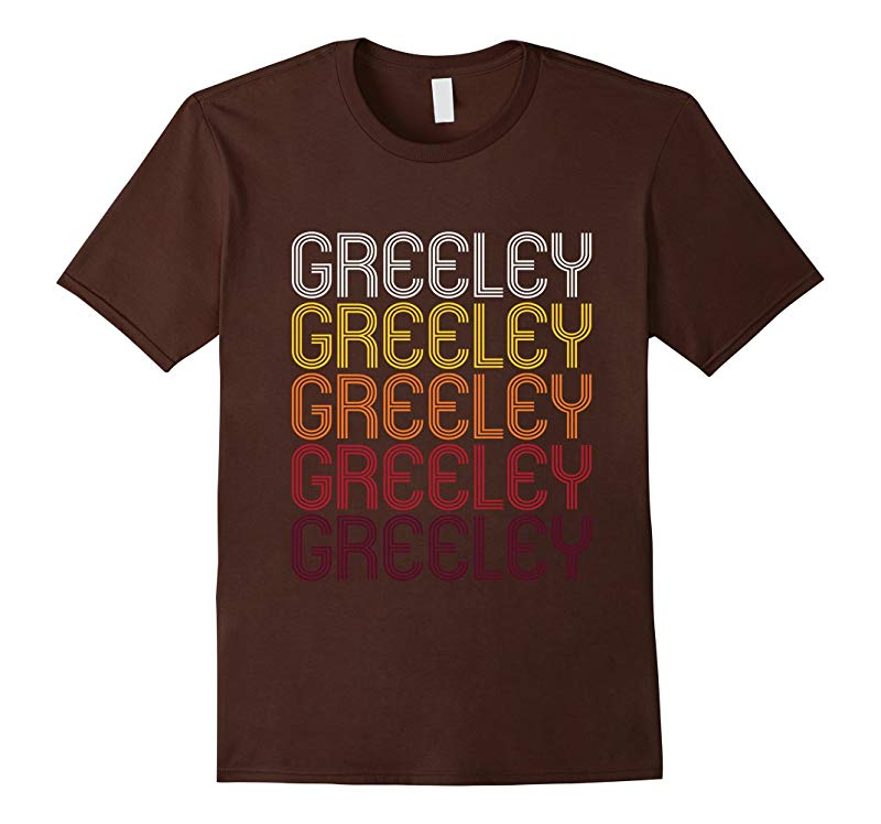 Greeley CO  Vintage Style Colorado T-shirt-RT