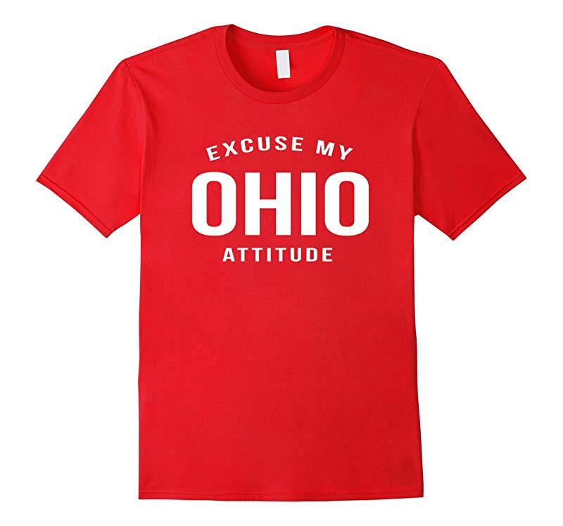 Excuse My Ohio Attitude T-Shirt-RT