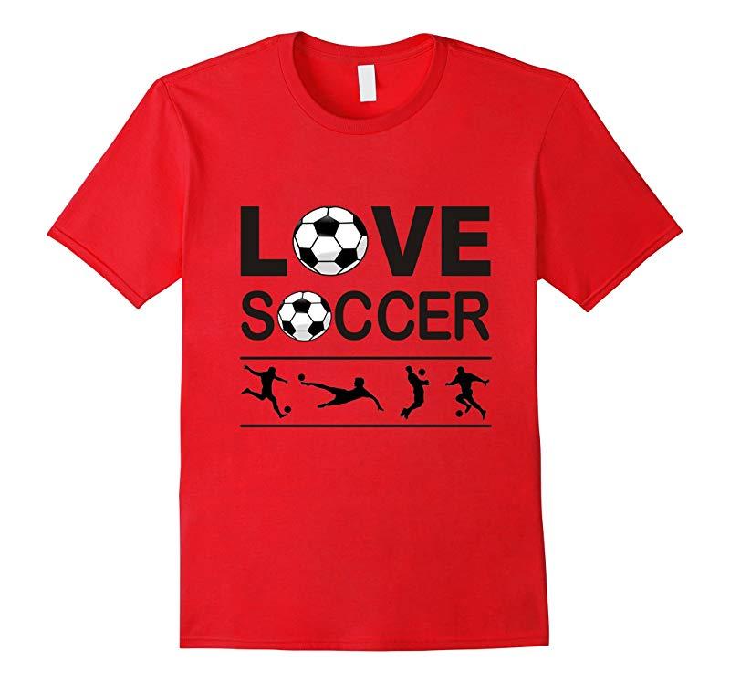 Love Soccer T-Shirt-RT