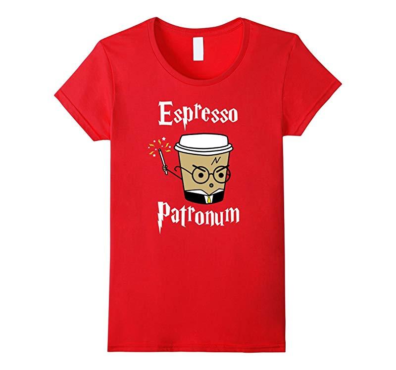 Womens Espresso Patronum T-Shirt | Cute Coffee Tee-RT