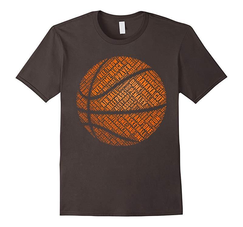 BASKETBALL BALL T SHIRT-RT