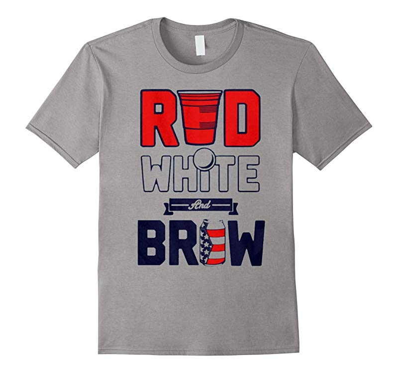 RED WHITE and BREW T-Shirt-RT