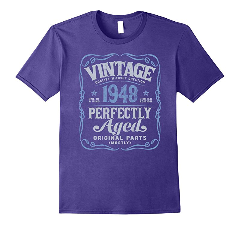 Vintage Made In 1948 T-Shirt 70th Birthday Gift-RT