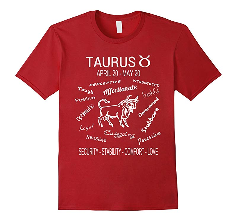 Taurus Horoscope T-Shirt April 20 - May 20-FL
