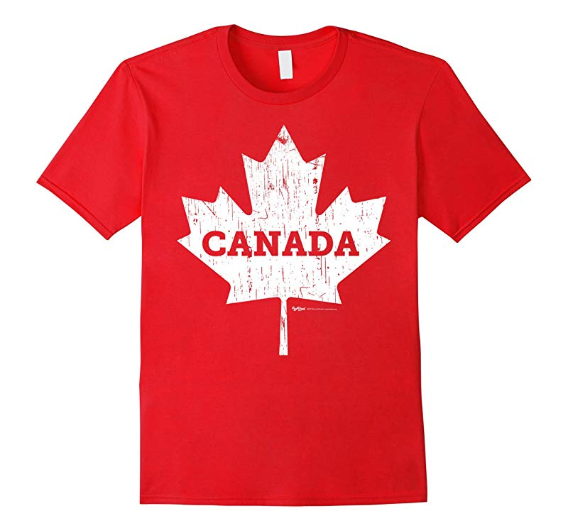 Vintage Canada Flag T Shirt for Men, Women and Kids-RT