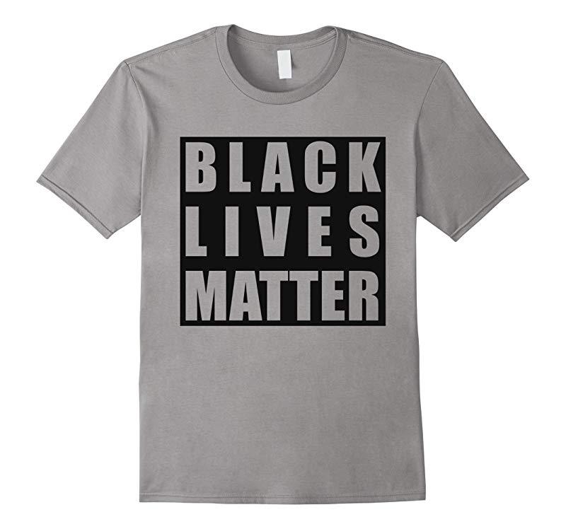 Black Lives Matter Race Unity Say No Racism Broken T-shirt-RT