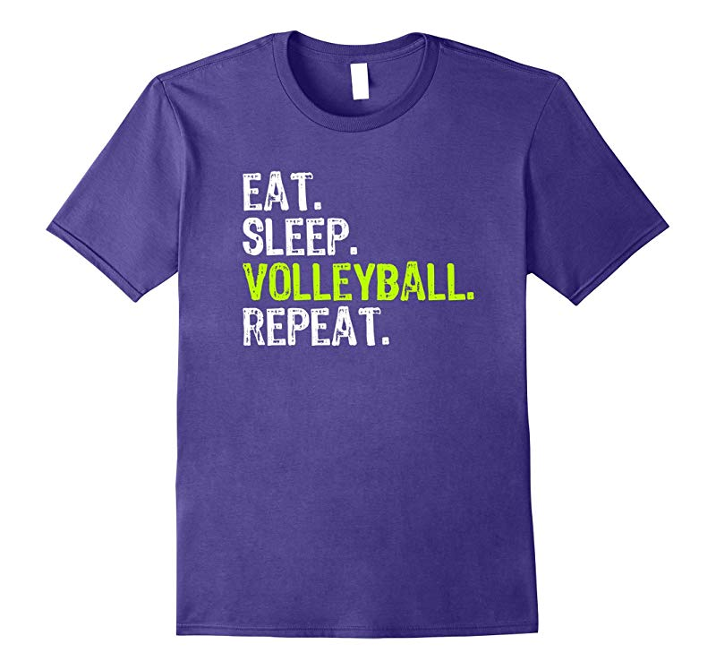 Eat Sleep Volleyball Repeat T-Shirt-RT