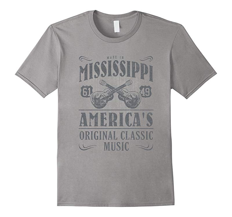 Made in Mississippi Americas Original Classic Music T-shirt-RT
