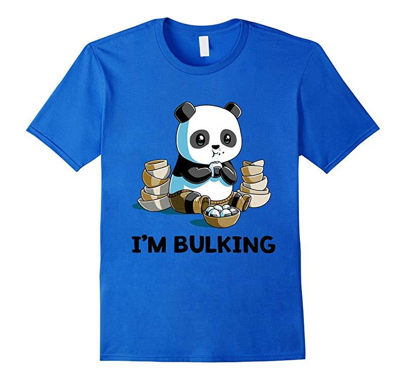 I'M BULKING - FUNNY PANDA T-SHIRT-CL