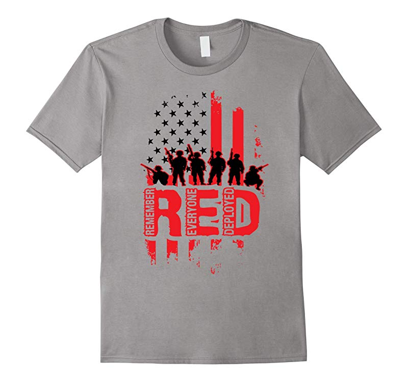 Remember Everyone Deployed - US Army T-Shirt-RT
