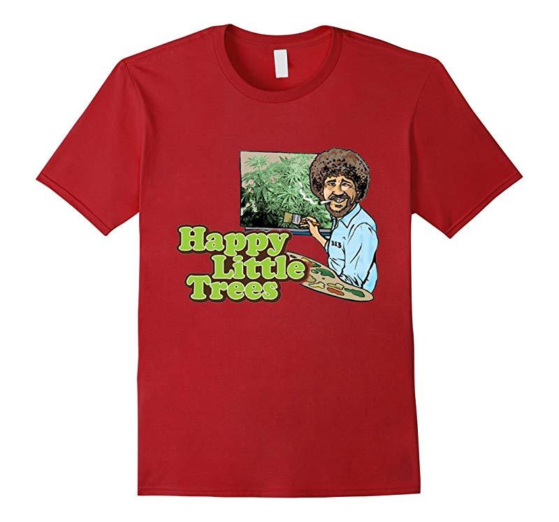 Bob Ross Happy Trees TEE-RT