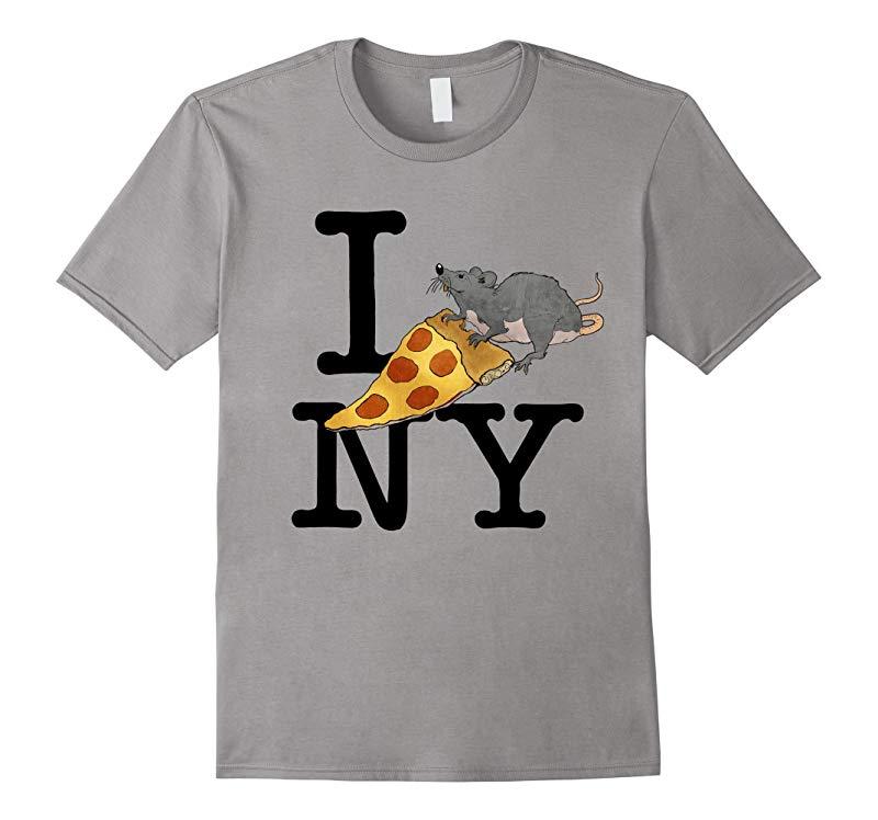 Pizza Rat, I love New York, Pizza Shirt, Ironic T-shirt-BN