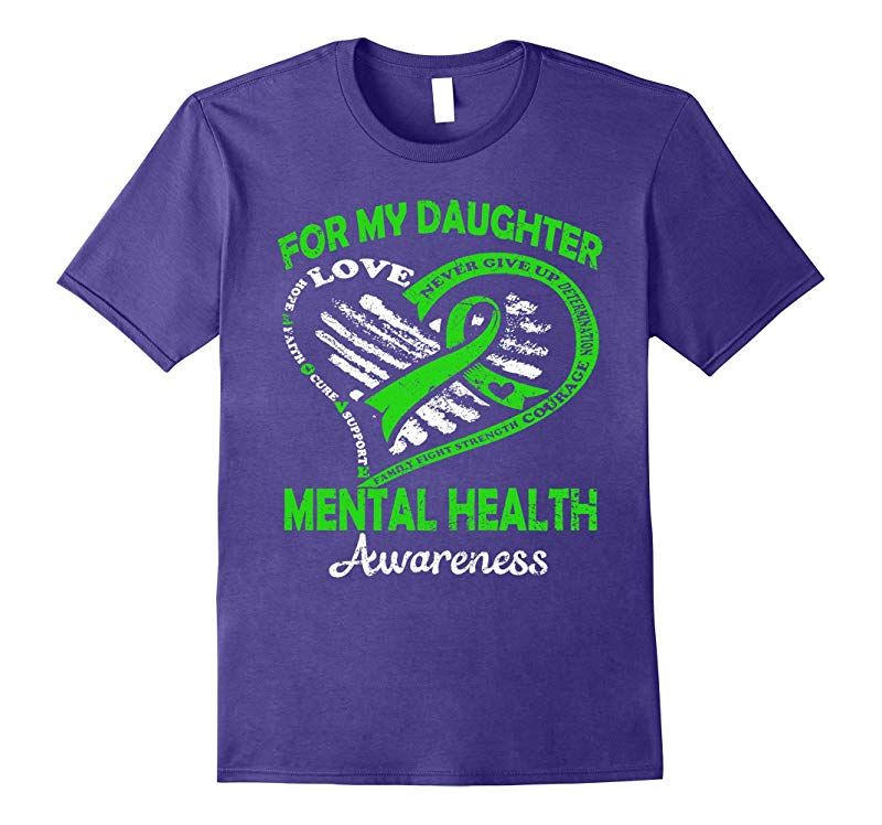 For my daughter mental health awareness t shirt-RT
