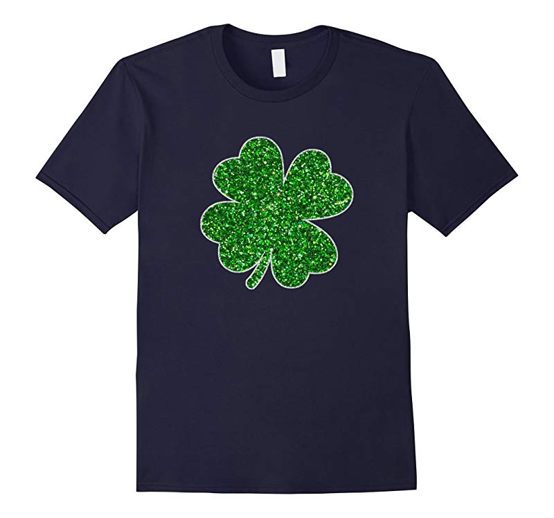 St Patricks Day Shamrock T Shirt-RT