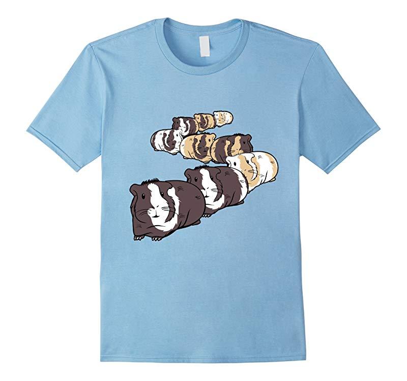 Adorable Guinea Pig Train T-Shirt-RT