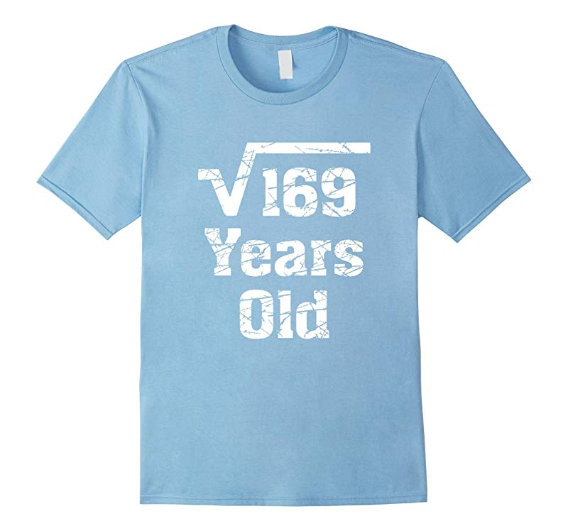 13 years old Birthday Gift Idea Square Root of 169 T-Shirt-BN