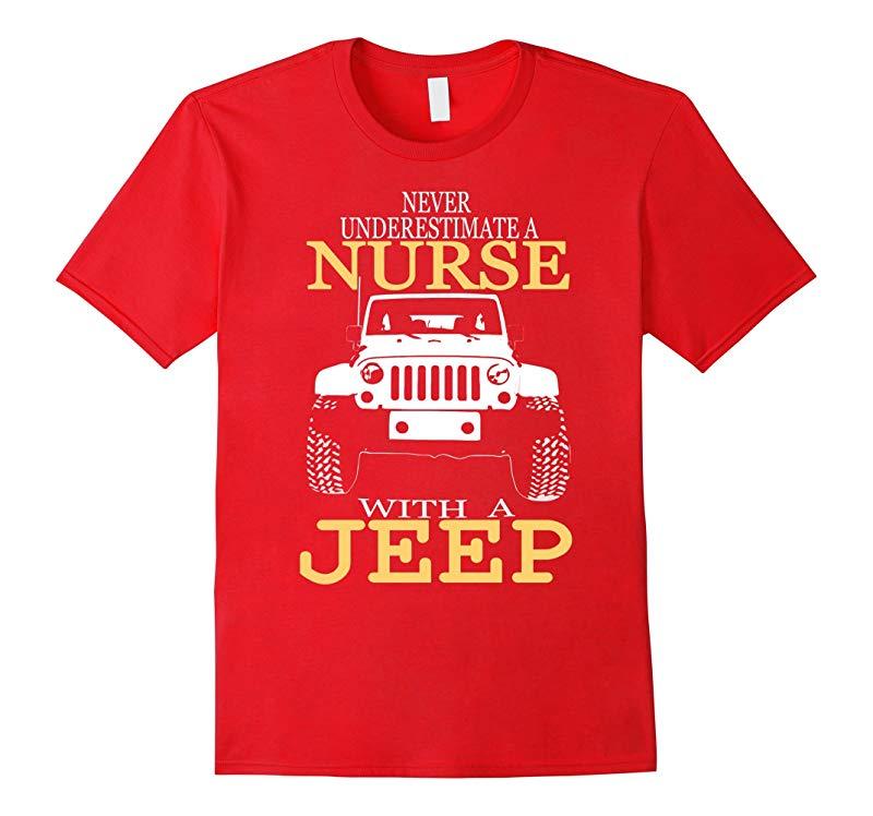 Nurse Jeep T-shirt-RT