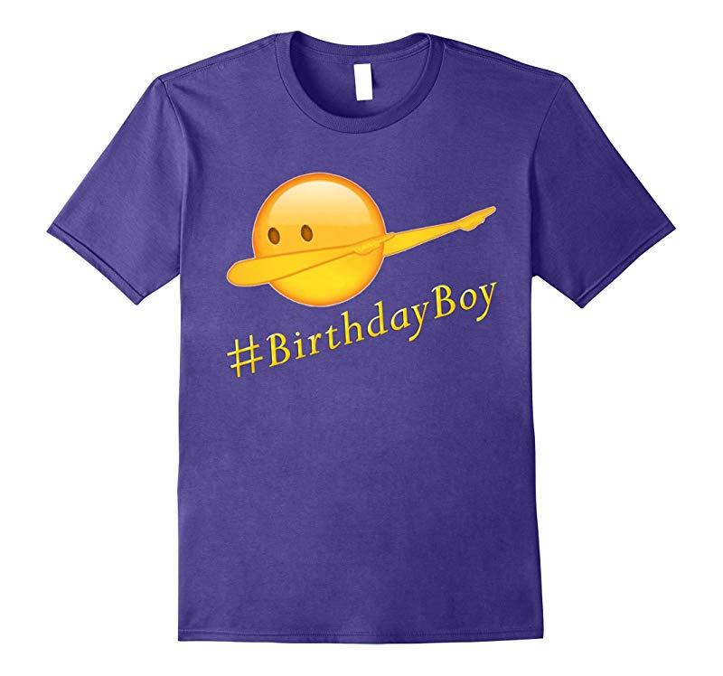 birthday emoji dab-dabbing gift t-shirt for boys-RT